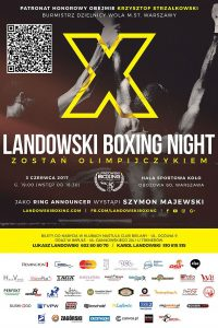 gali Landowski Boxing Night X